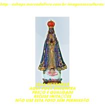 Lembrancinha Nossa Senhora Aparecida Escultura Resina 10cm