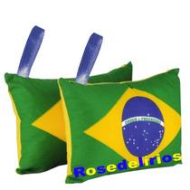 Almofadas-chaveiro Personalizadas 7x7 Pra Sua Festa