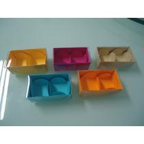 20 Caixas Com Visor De Acetato P/ Docinhos,bombons,trufas,