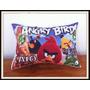 30 Almofadas Personalizadas Lembrancinha Angry Birds 20x15