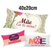 10 Travesseirinhos Almofadas Lembrancinha 40x20 Dia Das Mães