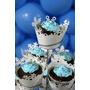 20 Festa Frozen Saias Mini Cupcakes Elsa Anna Wrapper