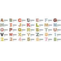 Letras E Números 3d Para Silhouette - Moldes De Corte