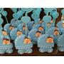 40 Lembrancinhas Carrinho De Bebê Em Biscuit