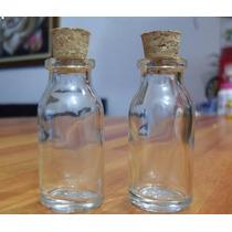 100 Frascos De Vidro C/ Rolha 15 Ml Penicilina Gordo