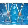 10 Frascos Vidro Aromatizadores Cubo 100 Ml Difusor R28 Alum