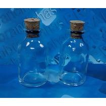 50 Frascos De Vidro C/ Rolha 24 Ml Gordo Penicilina