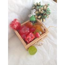 Cesta De Frutas- Sabonete Artesanal - Lembrança