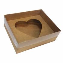 50 Caixas P/ Coração De Colher 500g - Caixa Dia Das Mães