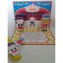 Convite Aniversario Pop Up (3d) Tema Circo Scrapbook