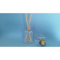 Frasco Vidro-quadrado Para Aromatizado. 30ml Kit C/10 Peças