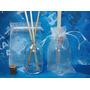 50 Kits Aromatizadores Frascos 50 Ml Vidro Difusor Organza