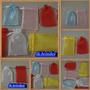 Saquinho De Organza Cristal P/leque 6x30 - Pct C/10 Unidades