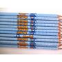 100 Rótulos Adesivos Personalizados Para Lápis (só Rótulo)