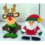 Lembranças De Natal (papai Noel, Rena)