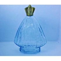 Lote Frasco De Vidro Nossa Senhora Aparecida Perfume Colonia