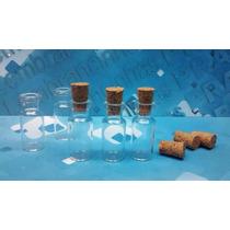 10 Frascos Vidro Penicilina C/ Rolha 3 Ml Pingente Colar