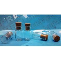 50 Frascos Vidro Penicilina C/ Rolha 1 Ml Pingente Colar
