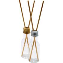 40 Aromatizador Difusor Embalagem Plastica 40ml Com 2 Vareta