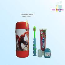 Kit Higiene Bucal Personalizado- Lembrancinha De Aniversario