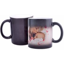 Canecas Mágica De Porcelana Dia Das Mães Personalizada