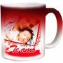 Canecas Mágica Vermelha Porcelana Dia Das Mães Personalizada