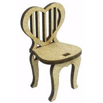 Cadeira Mini Mdf Cru - Aniversario-festa-aniversario