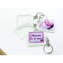 Chaveiro Acrílico Foto 3x4 Kit Com 50 Peças Só R$ 24,25