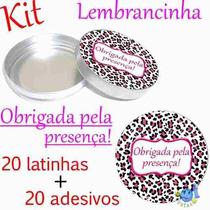 Lembrancinha Adesivo + Mint To Be Oncinha Melhor Preço