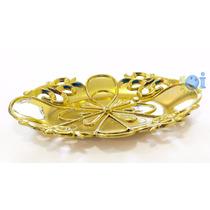 Bandejinha Para Doces Lembrancinhas Chá De Cozinha Dourada
