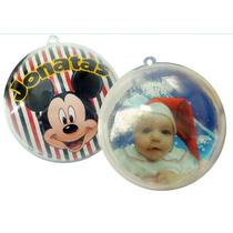 10 Bolas De Natal Personalizada Com Foto Ou Imagem