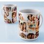 Caneca Porcelana Personalizada Com Suas Melhores Fotos