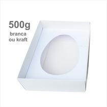 50 Caixas P/ Ovo De Colher 500g - Páscoa