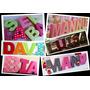 Letras 3d, Alfabeto 3d, Números 3d, P Silhouette + Brindes