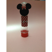 20 Tubete, Tubo Pet Mickey, Minnie Scrapbook