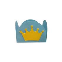 Forminhas Para Doces Finos Coroa Príncipe Lote 100 Unidades