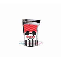 10 Saquinho Metalizado Mickey, Personalizado, Outros Tema