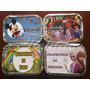50 Marmitinhas Personalizadas Mickey Branca Neve Frozen