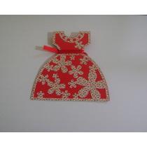Brindes - Convite Vestido - Festa Junina