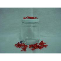 10 Potes De Vidro Liso 200ml P\ Lembrancinhas\doces\geléia