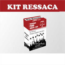 30 Kit Ressaca Direito, Lembrancinhas Para Formatura