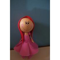 Boneca 3d Eva Princesa Ariel