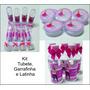 Kit Lembrancinha Latinha+garrafinha+tubete Personalizados