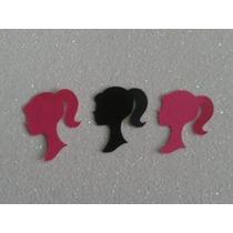 100 Recortes Silhueta Barbie - Scrap E Personalizados