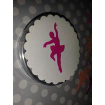 100 Recortes Bailarina Grande 3,8cm Scrap Festa Frete R$5,00