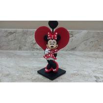 50 Lembrancinhas Minnie Coração / Minie / Vermelha Ou Rosa