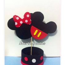 Centro De Mesa Minie E Mickey