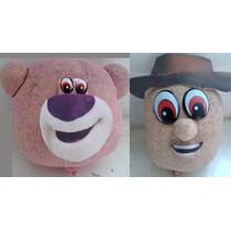 10 Bonecos Ecológicos Toy Story Pague Em 12 X