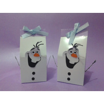 10 Caixa Bala Castelo Caixinha Frozen Vestido Cupcake Olaf