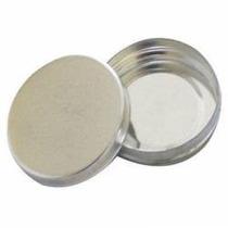 30 Latinhas 5x1 De Alumínio Redonda Na Cor Prata